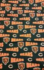 REMNANT CHICAGO BEARS, 100% COTTON fabric 54