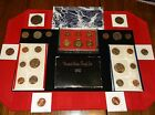 JUNK DRAWER Coin Lot+IKE Dollar KENNEDY Half Dollars+Proof Coins+Mint Set COINS