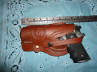 Left Hand Colt 1911 Leather Holster Wild Bunch Style Field Holster Stamped US