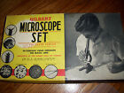 1938 Vintage No 8 Gilbert Microscope Boxed Set, Antique, Young Scientist, Nice
