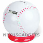 Baseball Sports Coin Counting Digital Counter Money Piggy Bank w/ Cheering Sound