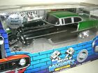 55 Chevy in Black Green Build IT Kit This Is one of the RARE ones Mint in Box