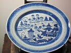 Antique Qing Dynasty Chinese Porcelain Blue and White Charger
