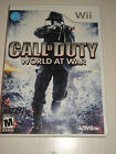 Call of Duty: World at War  (Wii, 2008) - Nintendo Wii video game