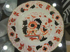 Antique WAGSTAFF AND BRUNT ROYAL DERBY HAND PAINTED PLATE c1880