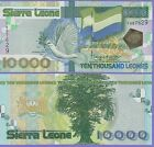 Sierra Leone 10000 Leones Banknote 2004 Uncirculated Condition Cat#29-7629