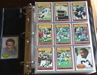 1976 TOPPS FOOTBALL NEAR COMPLETE SET 538 CARDS WALTER PAYTON ROOKIE NEAR MINT
