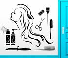 Wall Sticker Vinyl Decal Hair Spa Beauty Salon Barbershop Cool Decor z2467
