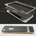Hybrid Slim Neo Gold Hard Frame & Soft Rubber Case Cover for Apple iPhone 6 4.7