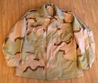~GENUINE US MILITARY 3 COLOR DCU MEDIUM REG M65 FIELD JACKET COAT COLD WEATHER