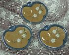 TT Luster Ware Luncheon Plates, made in Japan, hand painted, lot of 3