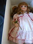 Victorian Collection~Melissa Jane Blue Eyes Red Hair,Pink Outfit, in Original Bx