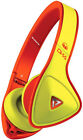 Monster DNA Headband Headphones - Yellow/Orange