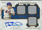 2014 TOPPS MUSEUM COLLECTION TRAVIS d'ARNAUD SIGNATURE SWATCH AUTO 3x RELIC 4 25