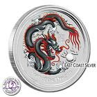 Year of the dragon Colorized Black 2012 Lunar Series II  BERLIN COIN ONLY