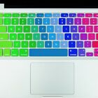 Rainbow Laptop Silicone Keyboard Protector Cover Skin For MacBook Air Pro 13 15