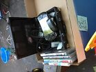 Sony PSP 3000 Piano Black Handheld System Bundle Games/TV Cables/Case/ MORE