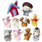 Old MacDonald Farm Animals Finger Puppets Kids Nursery Rhyme Storytelling Props