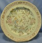 Adams Calyx Ware ironstone Singapore Bird pattern light blue color Dinner Plate