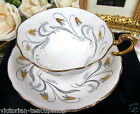 PARAGON TEACUP GOLD GILT  PAINTED TEA CUP AND SAUCER PATTERN
