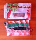 Vintage Flamingo Palm Tree Patio Lights NEW Box Retro 70s Backyard Trailer Party