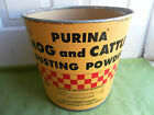 VINTAGE ADVERTISING PURINA HOG AND CATTLE DUSTING POWDER CONTAINER BOX