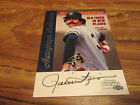 1999 FLEER SI ROLLIE FINGERS AUTOGRAPH GREAT CARD