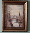 Vintage Original Oil Painting Hendrik Breedveld Holland