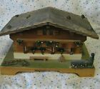 Vtg REUGE House Swiss Chalet Music/Jewelry Box Plays Lara's Theme Dr. Zhivago