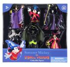 Disney Parks Mickey Mouse Sorcerer Villains Figure Cake Topper Playset New Box