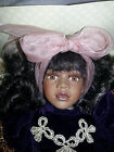 New In Box  Classic Treasures African American Porcelain Doll Special Edition