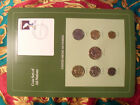 Coin Sets of All Nations Mexico w/card 1985 - 1988 UNC