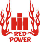 New Custom RED POWER IH Pulling Farm Tractor (& Cub Cadet Fans) Decal - Free S/H