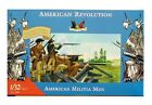 Toy Soldiers Accurate 1/32 Scale 1776 American Militia Men Set I 20 Figures