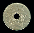 1911 BELGIAN CONGO - 10 CENTIMES - KM18 - HIGHER END CIRCULATED (237)