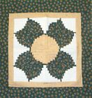 Sunflower log cabin and paper foundation Quilt pattern by Grannie Suzannie