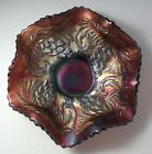NORTHWOOD Carnival Glass Iridescent Amethyst / Purple 6