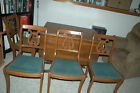 Duncan Phyfe Drop Leaf Table and four chairs