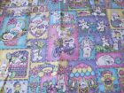 VIP 2 yd Easter BUNNIES BLOCKS Print Fabric QUILT APPLIQUE BASKET KIDS CRAFT NEW