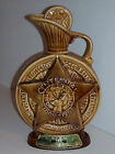 VINTAGE JIM BEAM BOTTLE CENTENNIAL 1886-1968 Kentucky Bourbon Whiskey BPOE Elks
