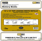 6-Pack Pioneer RMW-5 12x12 White Memory Book Refill Pages - 30 Sheets