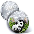 2014 1 DOLLAR REPUBLIC OF MARSHALL ISLANDS PANDA