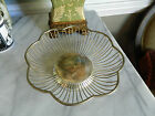 Vintage International Silver Co silverplated wire bread basket