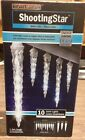 3-BOXES Gemmy Christmas Light Show LED Shooting Star Falling White Icicle Lights
