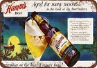 1953 Hamm's Beer Moons Vintage Look Reproduction Metal Sign