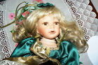 Holiday Traditions, Porcelain Doll by Kathy Smith Fitzpatrick, AEL2005, sgnd.