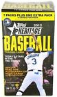 (3) Box Lot 2012 Topps Heritage Retail Factory Sealed Unopened Box (8ct)