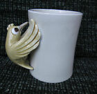 Fitz & Floyd BIRD IN HAND MUG coffee mug 3.75