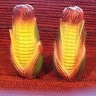 Collectible Corn Cob Salt And Pepper Shakers Yellow Green