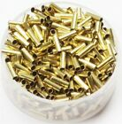 2 x 6 MM Brass TUBE SPACER Beads Hole 15 MM Pkg Of 100 Solid Raw Brass